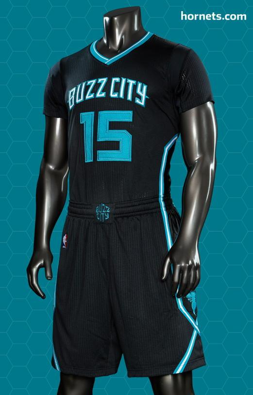 "These new uniforms for the Charlotte Hornets have been called ""boring"" by  some b904a64d9"