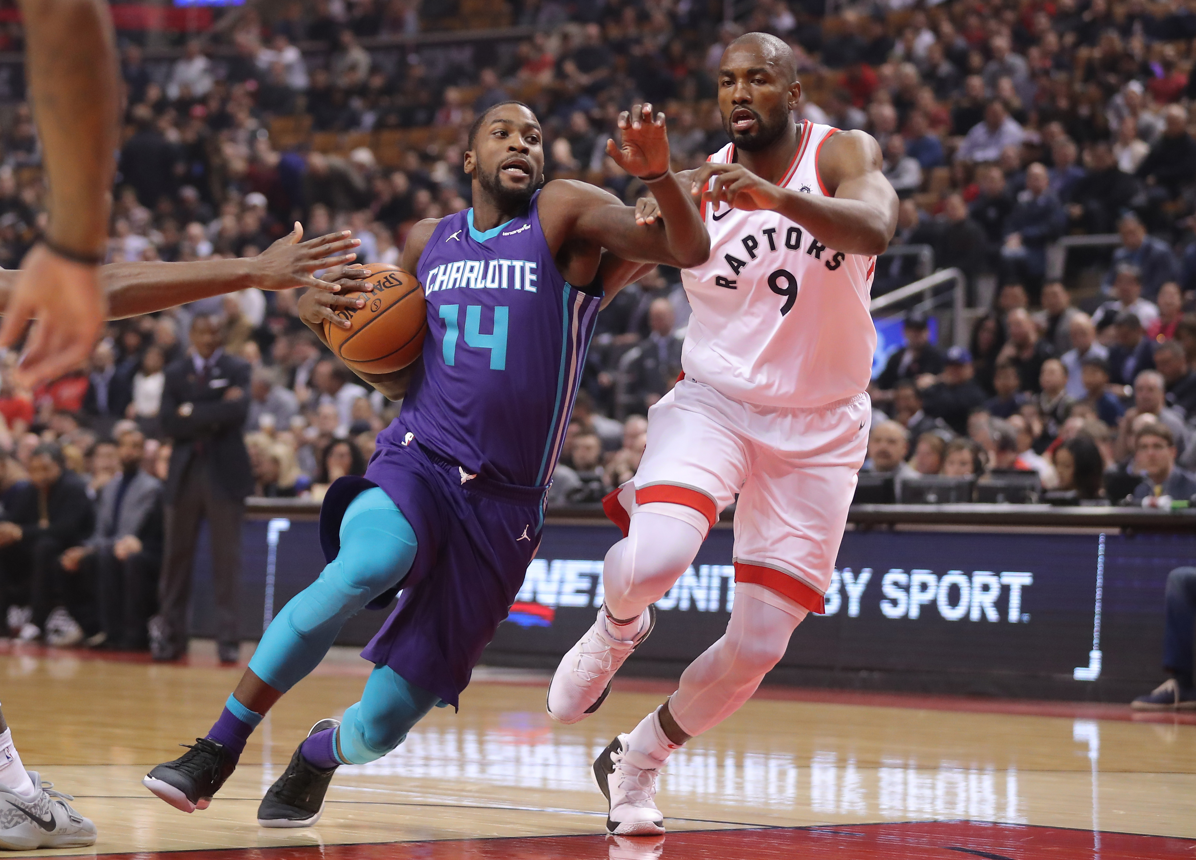 The Charlotte Hornets Fall To The Toronto Raptors 126 113