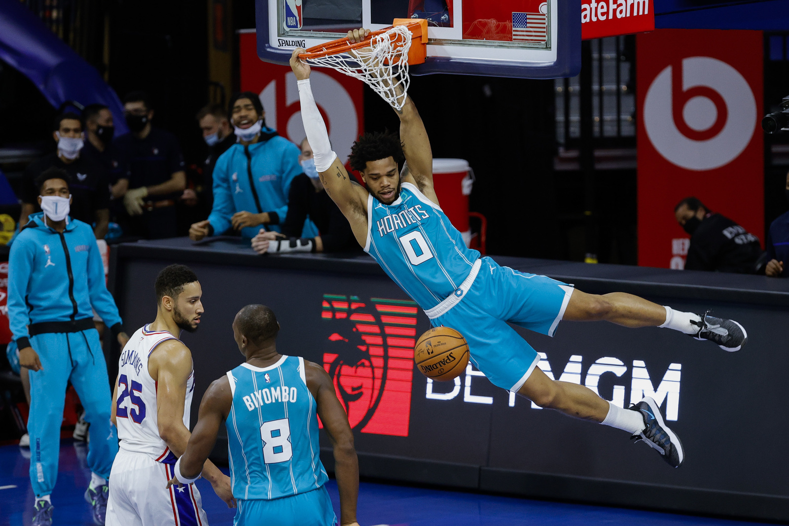 Charlotte Hornets: Should Miles Bridges be in the dunk contest again?